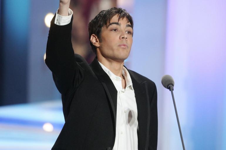 """Grégory Lemarchal aux """"NRJ Music Awards"""" de 2006"""