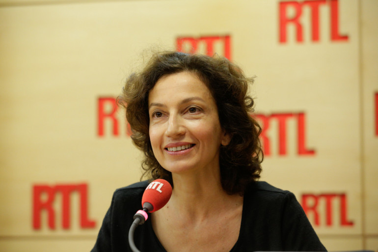 Audrey Azoulay, ministre de la Culture, au micro de RTL le 9 septembre 2016