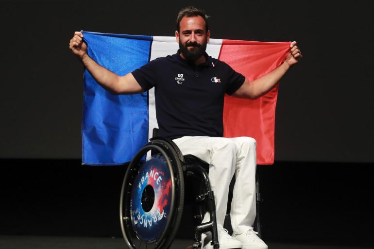 Michaël Jeremiasz à Paris le 19 juillet 2016