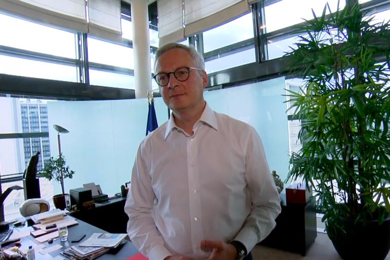 """Bruno Le Maire dans un numéro du magazine """"Capital"""" diffusé le 3 mai 2020"""