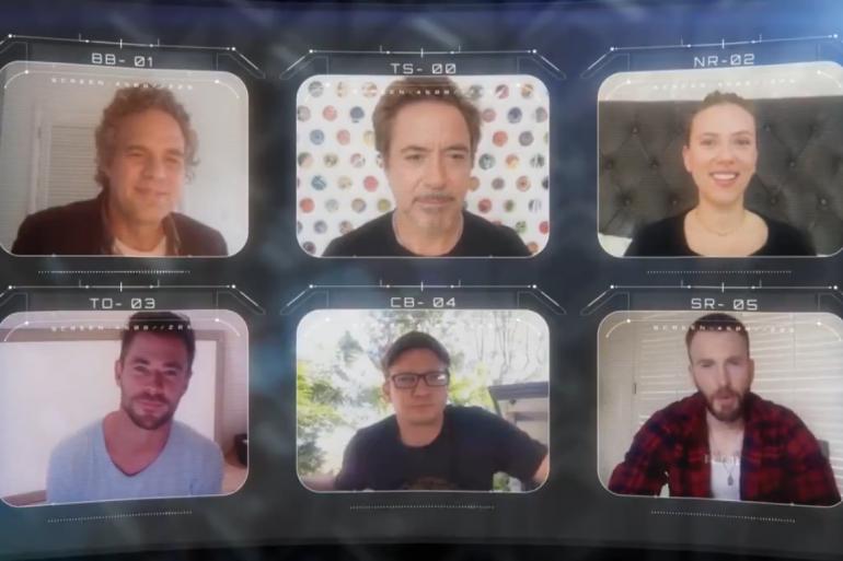 Les six Avengers réunis virtuellement pour les fans