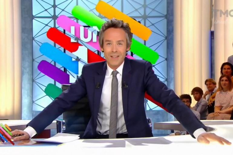 """Yann Barthès à la première de """"Quotidien"""""""