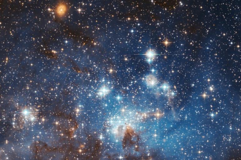 Des étoiles se forment dans le Grand Nuage de Magellan
