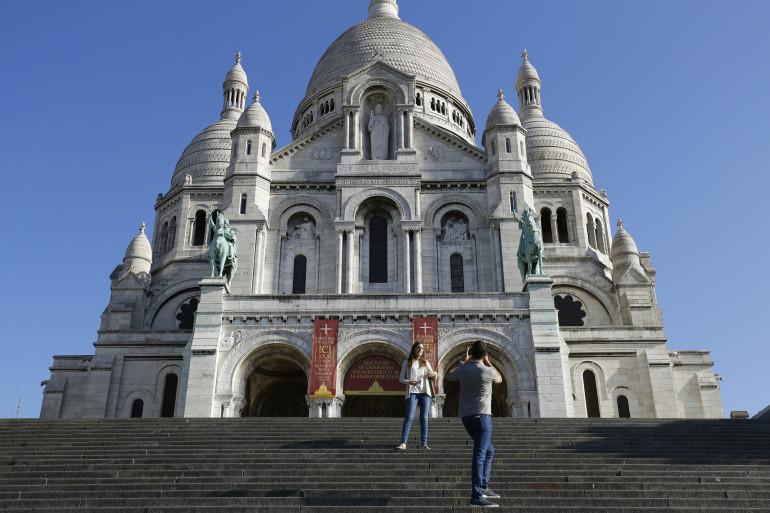 Paris : la basilique du Sacré-Coeur à Montmartre