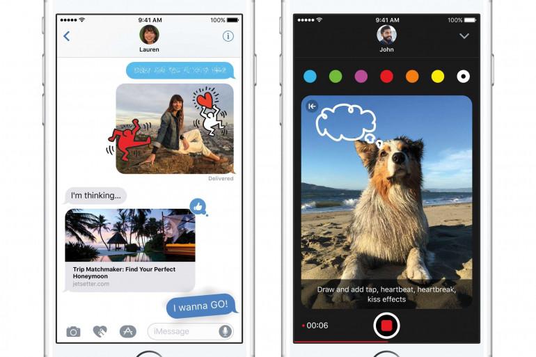 La dernière version d'iOS 10, le système d'exploitation pour iPhone et iPad est disponible