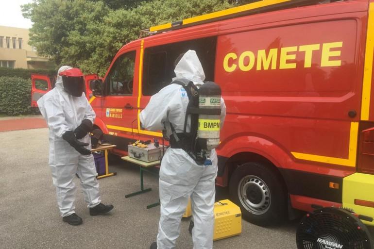 L'unité spécialement créée pour traquer le coronavirus, la Comete