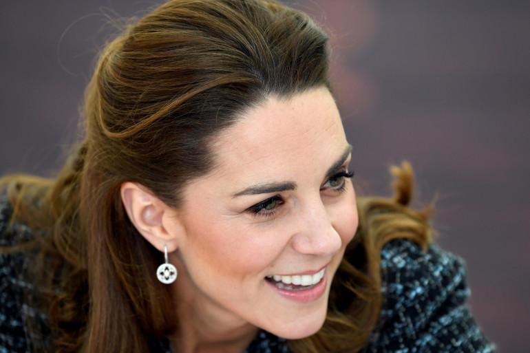 Kate Middleton en visite au Evelina London Children's Hospital à Londres en janvier 2020