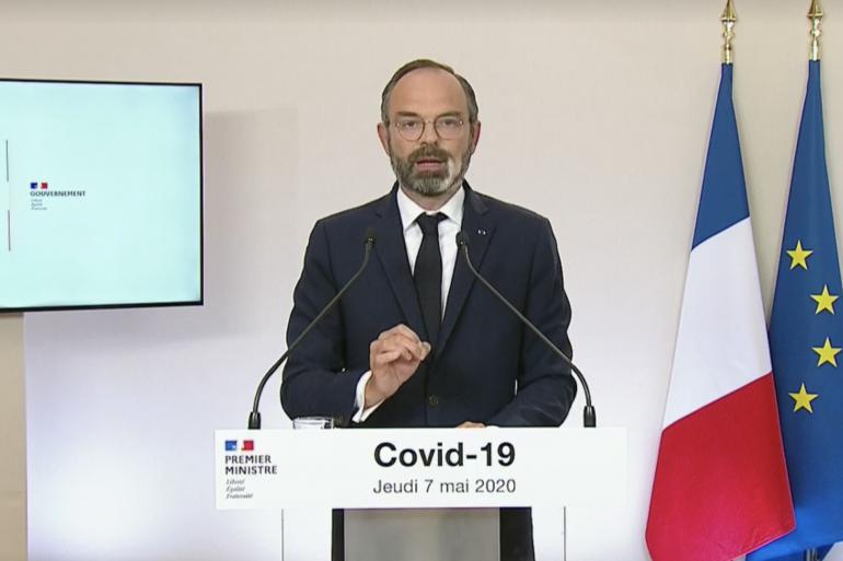 Le Premier ministre Edouard Philippe le 7 mai 2020