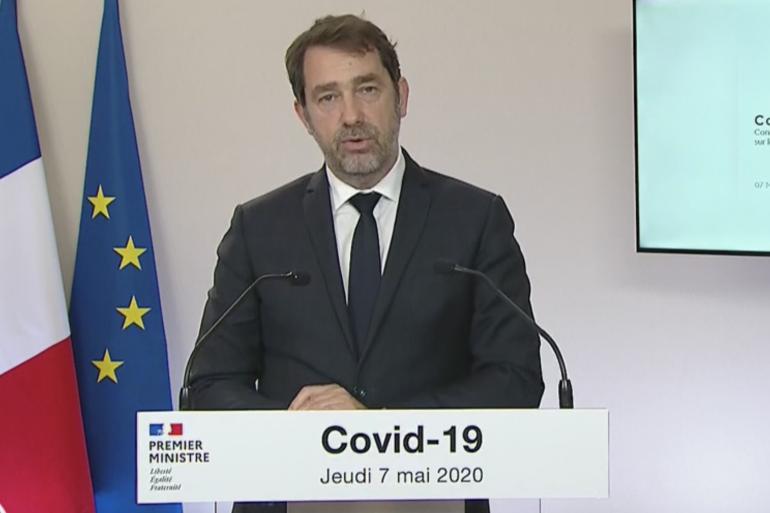 Le ministre de l'Intérieur Christophe Castaner le 7 mai 2020