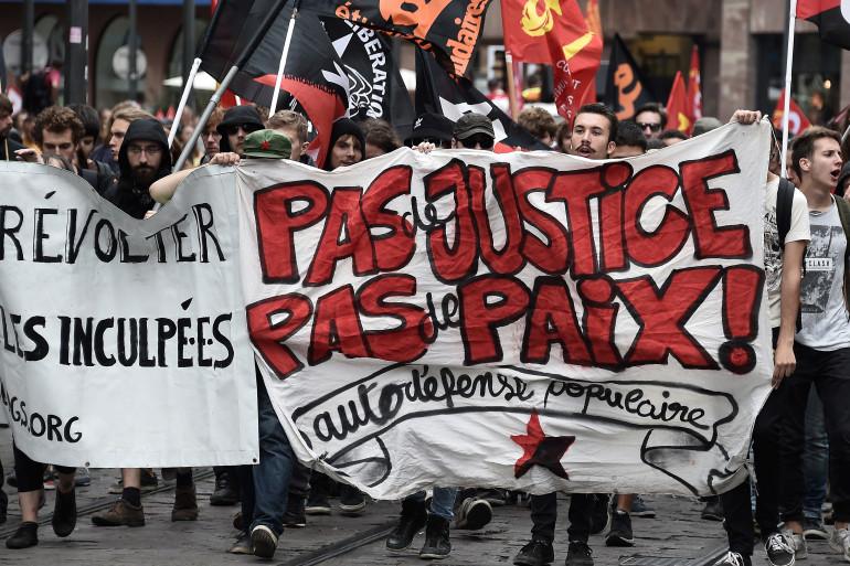 La manifestation contre la loi Travail a dégénéré à Paris jeudi 15 septembre.