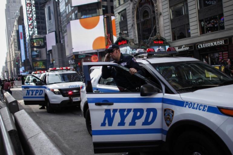 Une voiture de police à New York (illustration)