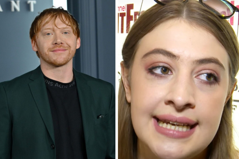 Rupert Grint et sa compagne l'actrice Georgia Groome