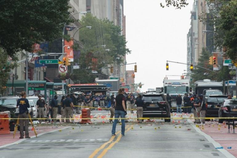 Le 17 septembre 2016, une explosion est survenue dans le quartier huppé de Chelsea, au coeur de Manhattan