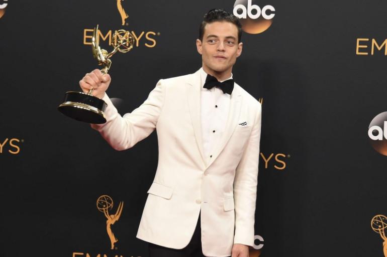 """Rami Malek l'acteur de """"Mr.Robot"""" récompensé"""