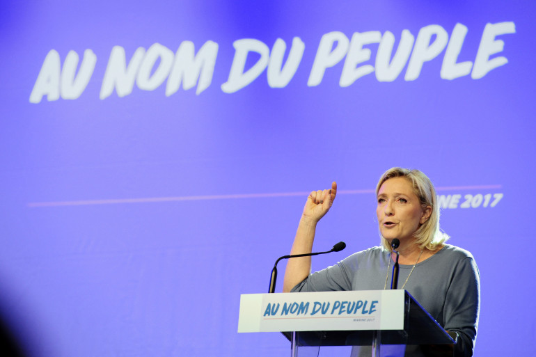 Marine Le Pen à Fréjus, le 18 septembre 2016