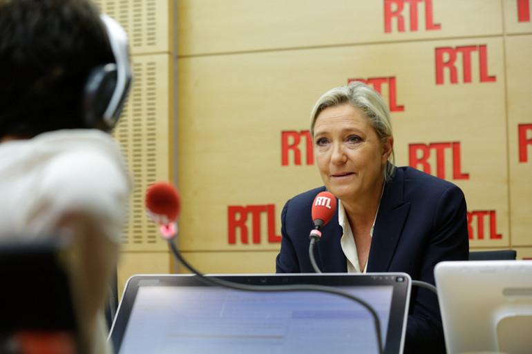 Marine Le Pen sur RTL mardi 20 septembre 2016