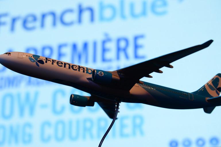 Un avion French Blue, le low-cost du long-courrier