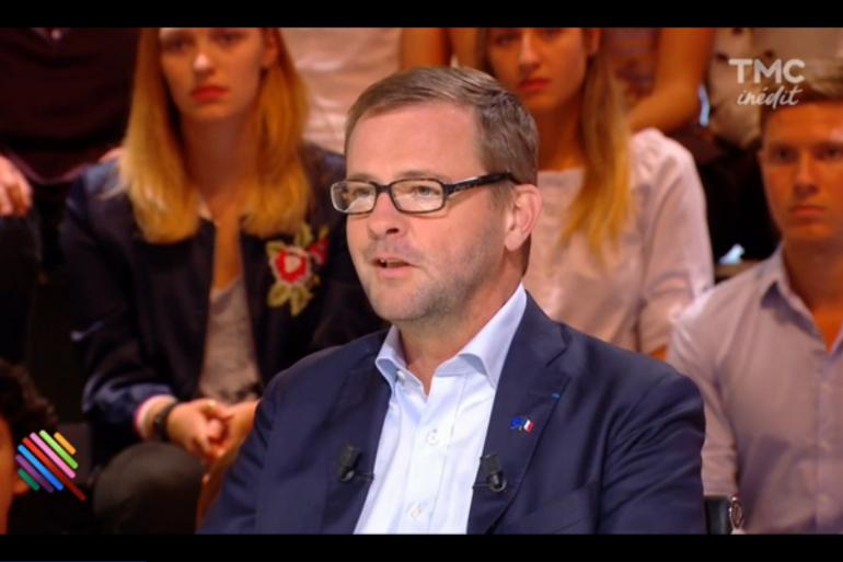 """Jérôme Lavrilleux, invité de l'émission """"Quotidien"""" sur TMC, le 19 septembre 2016"""