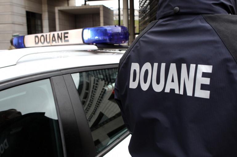 La douane française (illustration)