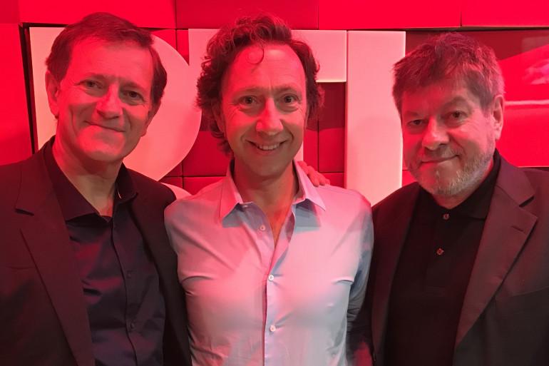 Francis Huster, Stéphane Bern et Régis laspalès