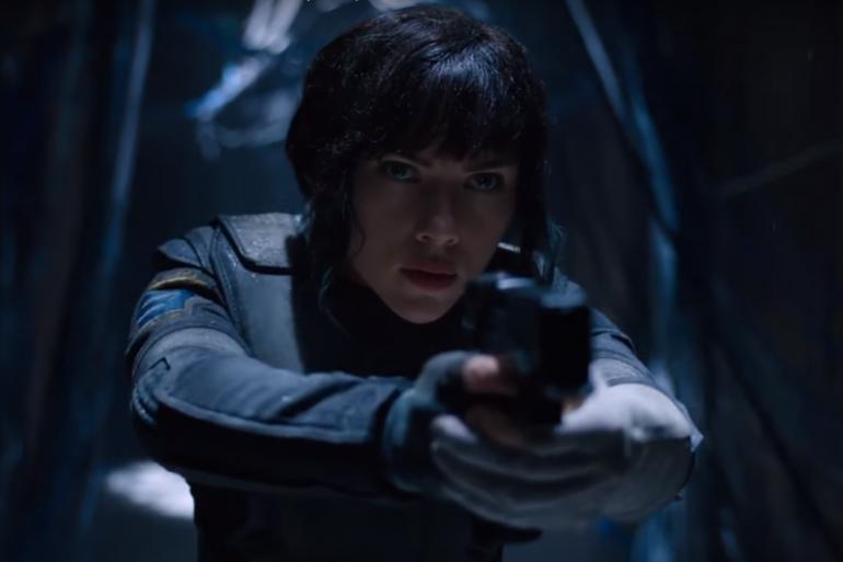 """Scarlett Johansson en héroïne de """"Ghost in the Shell"""""""