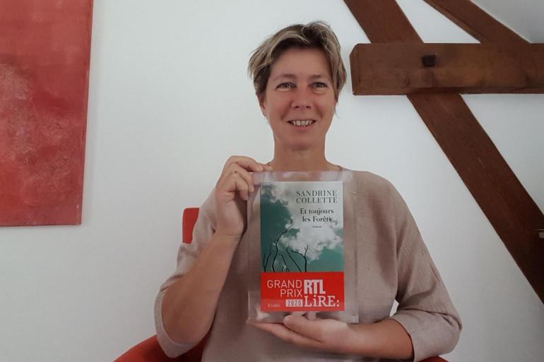 Sandrine Collette remporte le Grand Prix RTL-Lire 2020