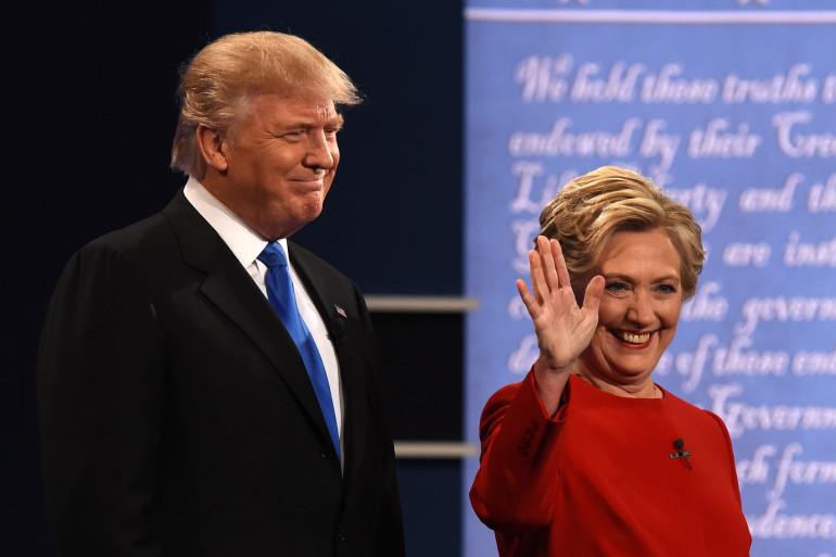 Donald Trump et Hillary Clinton, le 26 septembre 2016.