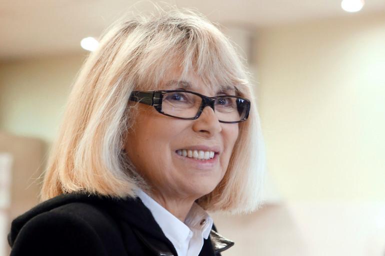 Mireille Darc le 25 octobre 2012 à Villejuif (Archives)