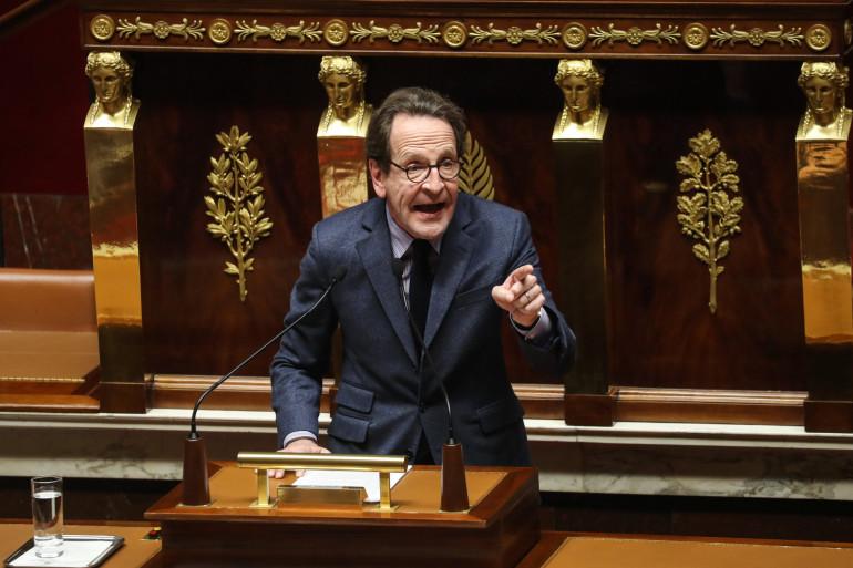 Gilles Le Gendre, patron du groupe LREM à l'Assemblée, dans l'hémicycle, le 3 mars 2020.