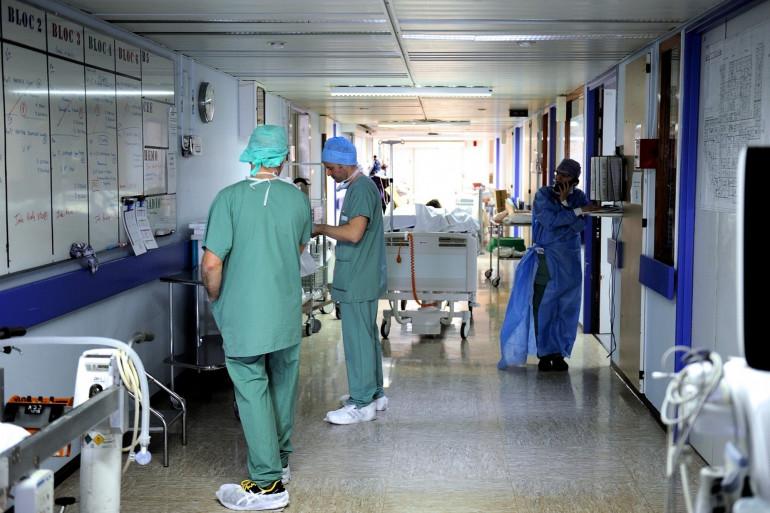 Un hôpital français durant l'épidémie de coronavirus (illustration)