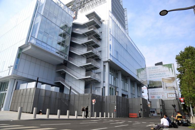 Le nouveau tribunal de Paris dans le XVIIe arrondissement