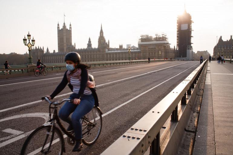 Les rues de Londres, en pleine épidémie de coronavirus.