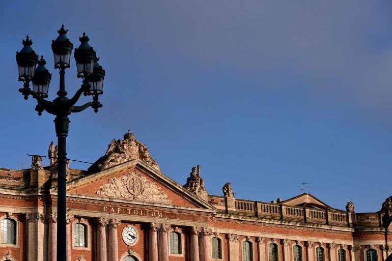 L'Hôtel de Ville de Toulouse (Illustration).
