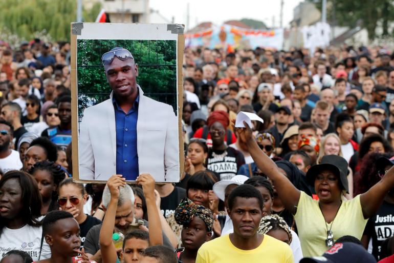 Environ 800 personnes avaient réclamé justice pour Adama Traoré le 21 juillet 2018