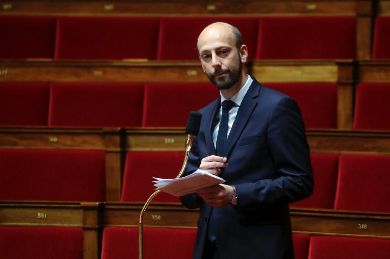 Stanislas Guerini, à l'Assemblée nationale le 21 mars 2020