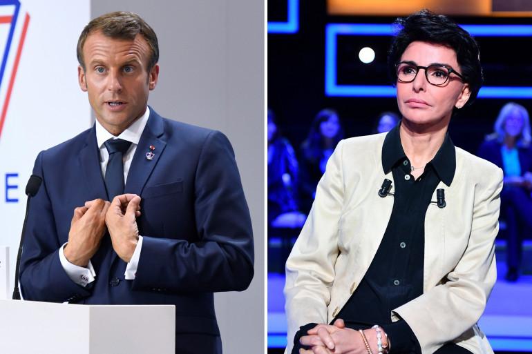 Emmanuel Macron et Rachida Dati