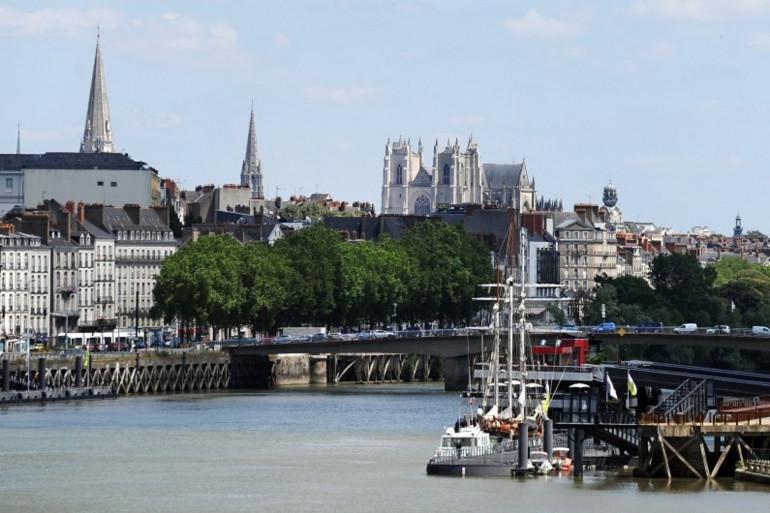 La ville de Nantes (illustration)