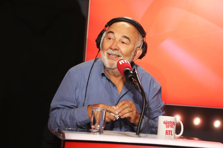 """Gérard Jugnot dans """"Les Grosses Têtes"""""""