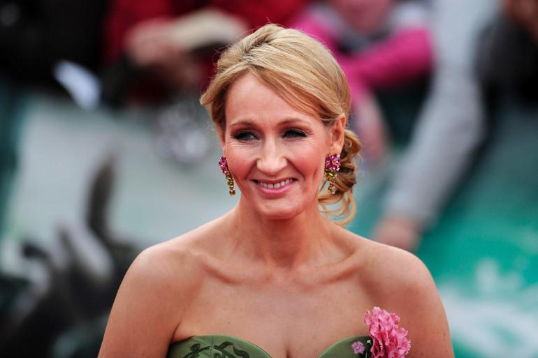 """L'écrivaine britannique J.K Rowling, autrice de la saga """"Harry Potter"""""""