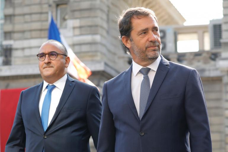 Christophe Castaner et Laurent Nuñez, le 20 août 2019.