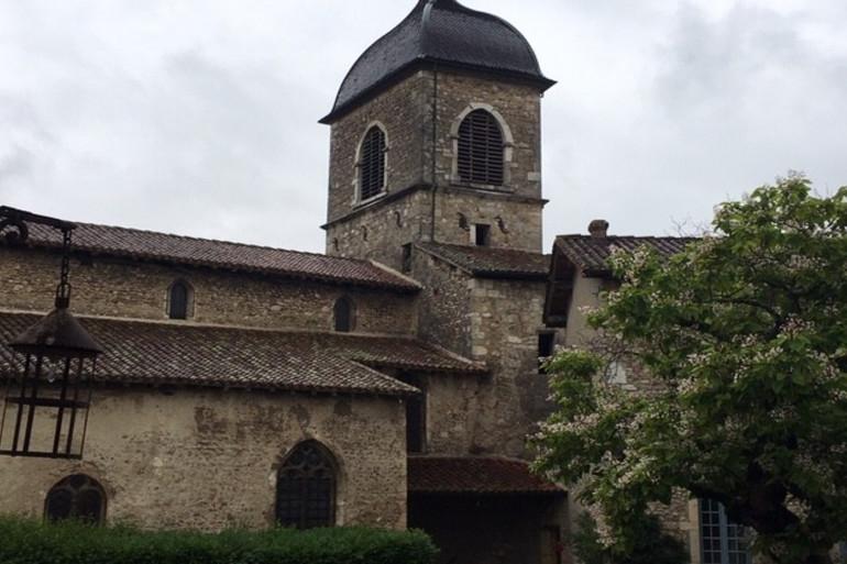 L'église de Pérouges