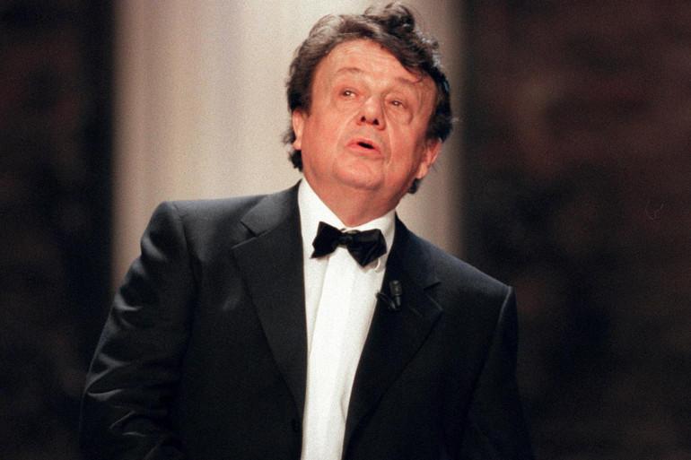 Le comédien Marcel Maréchal, ici le 8 mai 2000, est décédé à l'âge de 83 ans