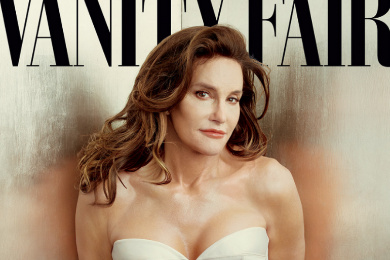 """Caitlyn Jenner se révèle en couverture du """"Vanity Fair"""" américain de juillet 2015"""