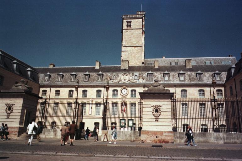 La mairie de Dijon, en Bourgogne-Franche-Comté.