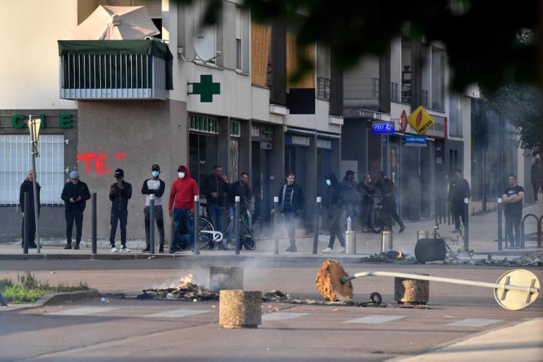 Les tensions dans la cité des Grésilles, à Dijon, sont fortes depuis l'agression d'un Tchétchène, mercredi 10 juin 2020.