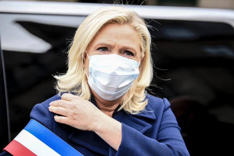 Marine Le Pen, le 1er mai 2020.