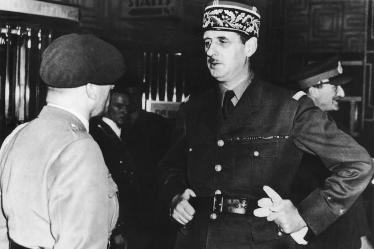 Charles de Gaulle à Londres en janvier 1940