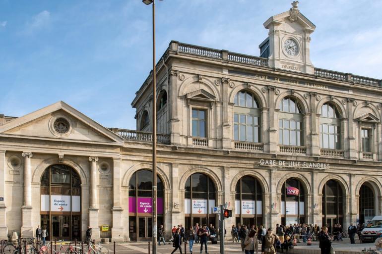 La gare de Lille-Flandres (image d'illustration)