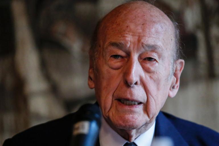 Valéry Giscard d'Estaing le 5 juin 2015.