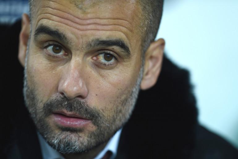 L'entraîneur de Manchester City Pep Guardiola
